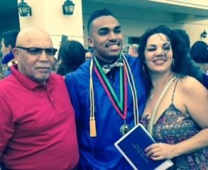 Grandpa, Maliek, Jessica (Mom)